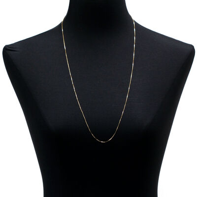 """Cable Chain 14K, 30"""""""