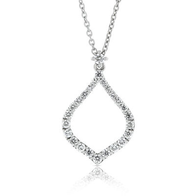 Roberto Coin Diamond Drop Pendant 18K