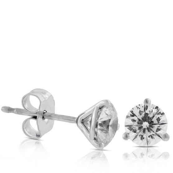 Signature Forevermark Diamond Earrings 18K