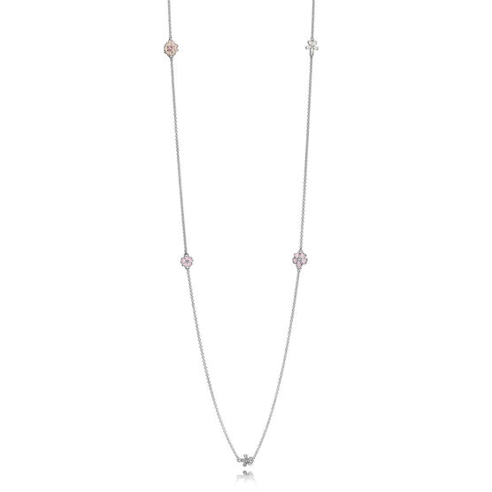 PANDORA Poetic Blooms Necklace