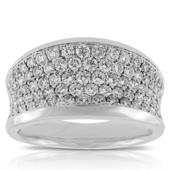 Diamond Pavé Band 14K