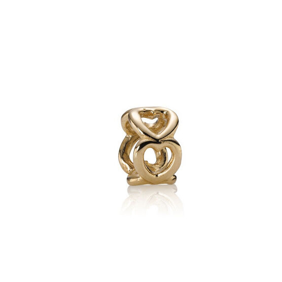 PANDORA Open Heart Spacer 14K