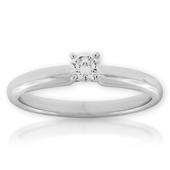 Ikuma Canadian Diamond Ring 14K, 1/5 ct.