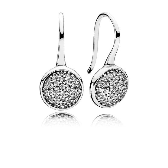 Pandora Drop Earrings: PANDORA Dazzling Droplets CZ Drop Earrings