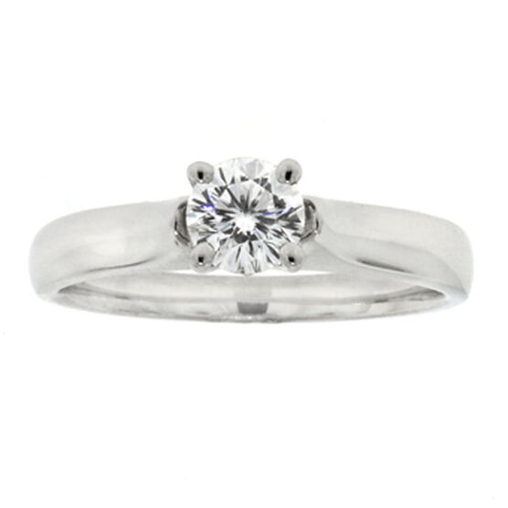 Ben Bridge Signature Diamond™ Ring in Platinum, 1/2 ct.