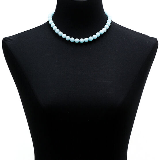 Lisa Bridge Amazonite Bead Necklace