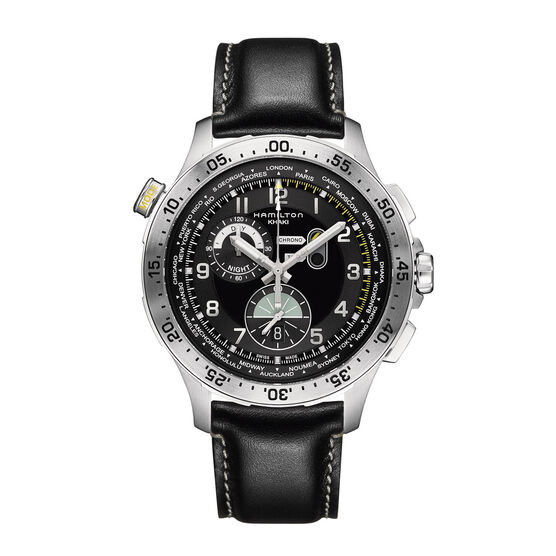 Hamilton WORLDTIMER Chrono Quartz Watch