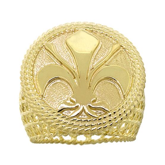Toscano Collection Fleur-de-Lis Ring 18K
