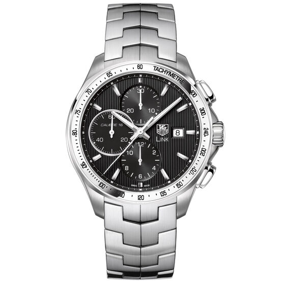 TAG Heuer Link Calibre 16 Automatic Chronograph, 43mm