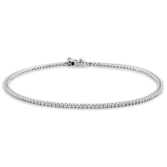 Diamond Tennis Bracelet 14K