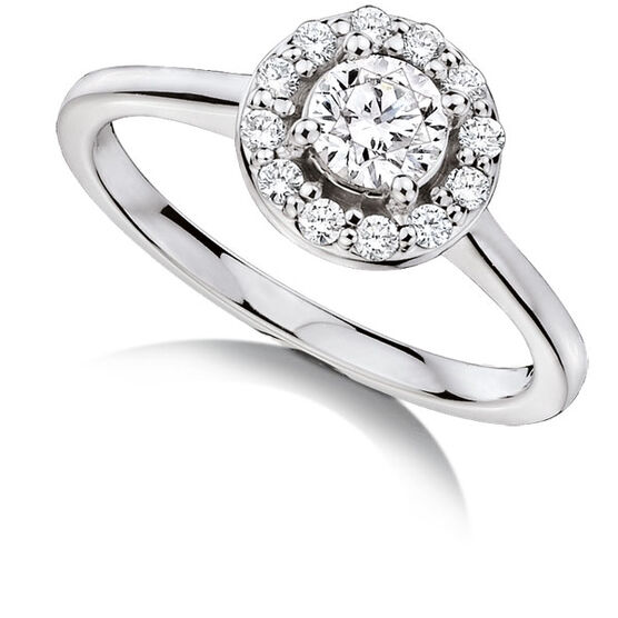 Forevermark Diamond Ring 18K, 1/2 ctw.