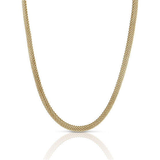 Toscano Collection Bombay Mesh Necklace 18K