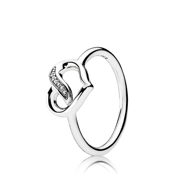 PANDORA Ribbons of Love CZ Ring