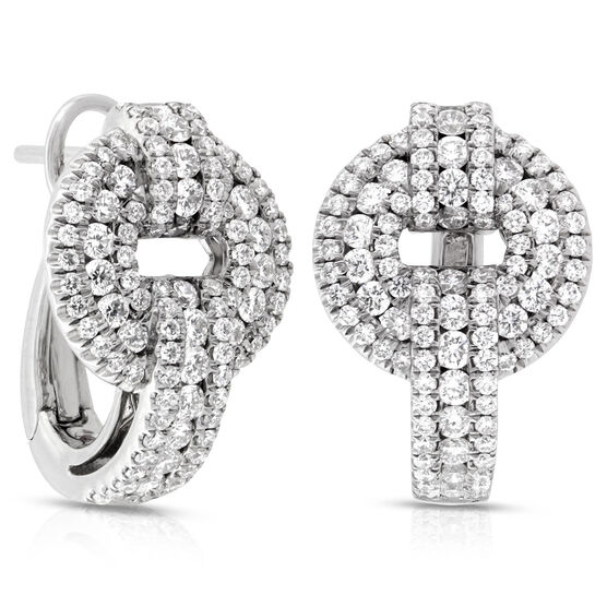Roberto Coin Diamond Earrings 18K