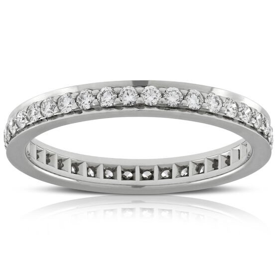 Diamond Eternity Band, 2/3 ctw in Platinum