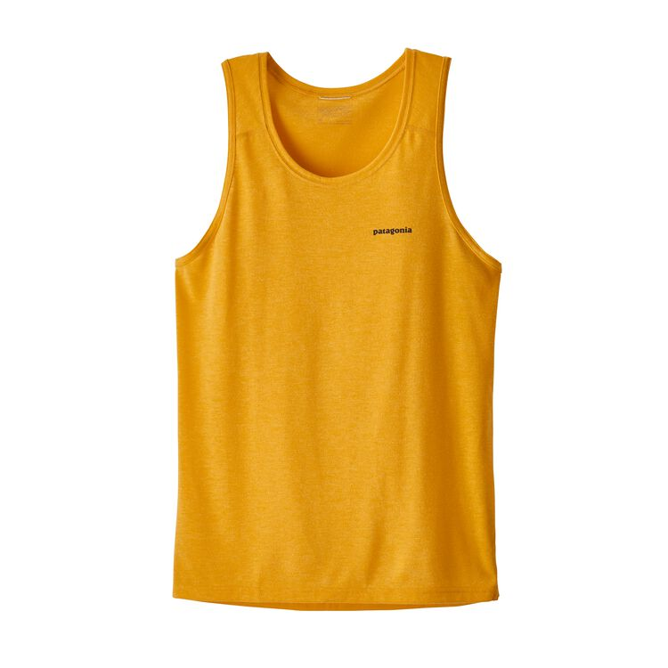 M'S NINE TRAILS SINGLET, Rugby Yellow (RGBY)