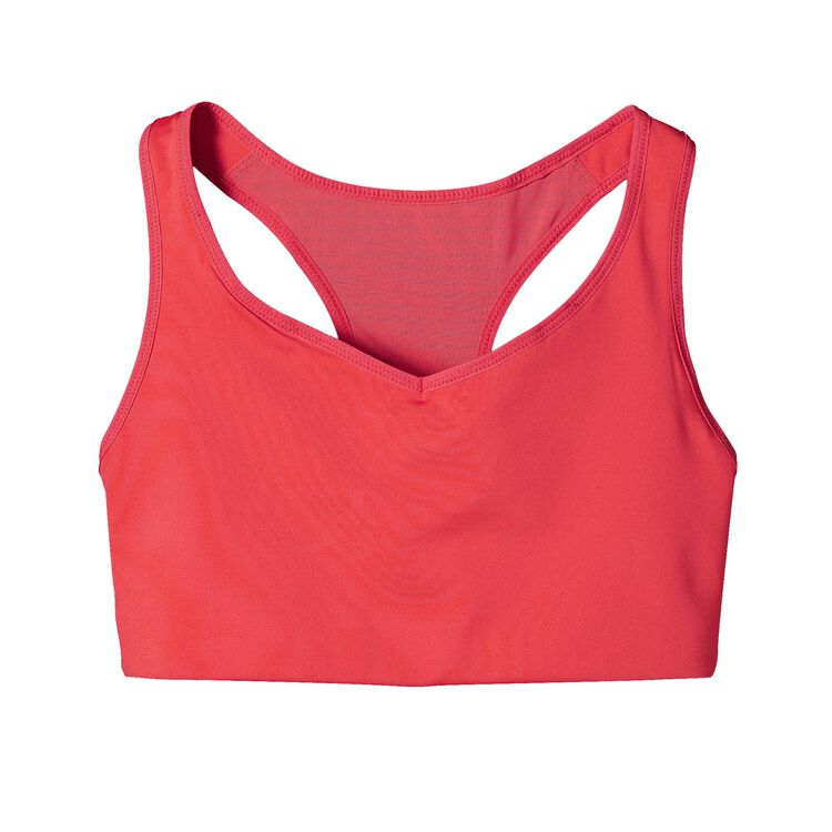 W'S COMPRESSION BRA, Shock Pink (SHKP)