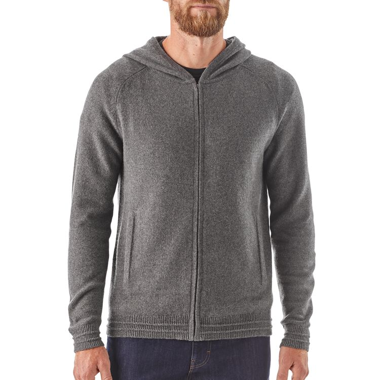 M's Recycled Cashmere Hoody Sweater,