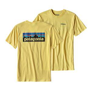 メンズ・P-6ロゴ・コットン・Tシャツ, Yoke Yellow (YKYW)