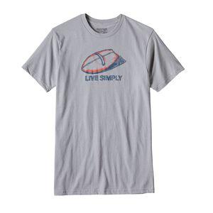 メンズ・リブ・シンプリー・ハンドプレーン・コットン/ポリ・Tシャツ, Drifter Grey (DFTG)
