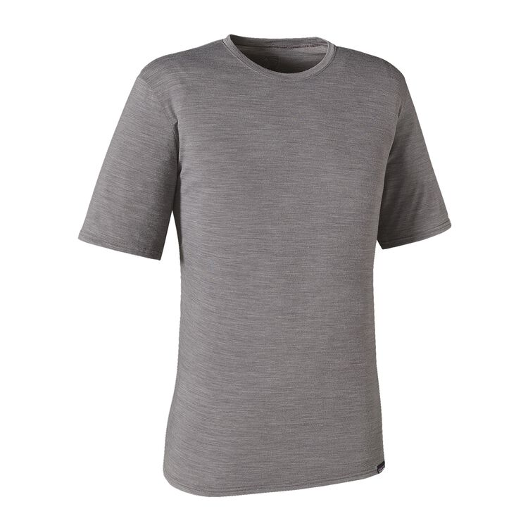 M'S MERINO DAILY T-SHIRT, Feather Grey (FEA)