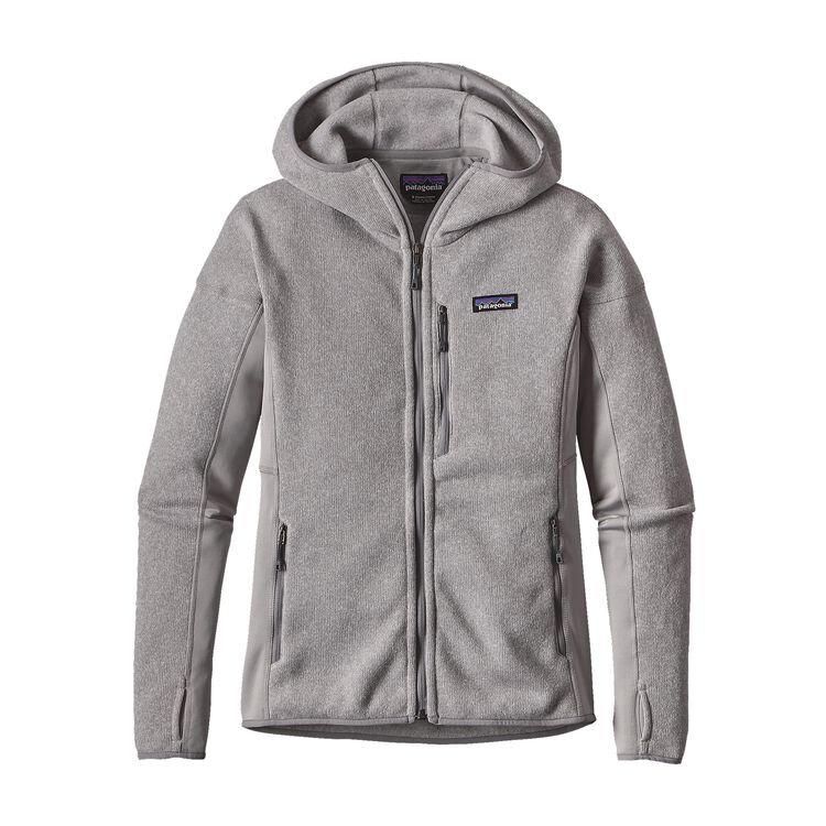 W'S PERFORMANCE BETTER SWEATER HOODY, Drifter Grey (DFTG)