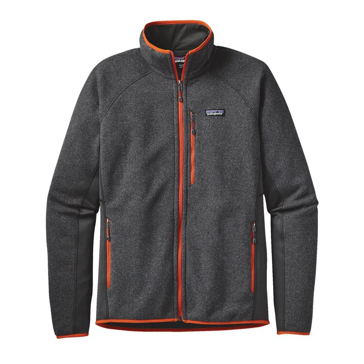 M'S PERFORMANCE BETTER SWEATER JKT, Forge Grey (FGE)