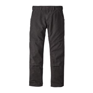 M's Iron Forge Hemp™ Canvas Double Knee Pants - Long, Ink Black (INBK)