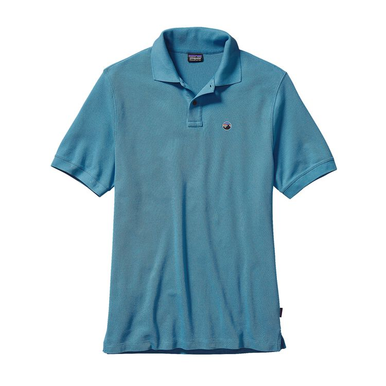 M'S FITZ ROY EMBLEM POLO, Catalyst Blue (CTYB)