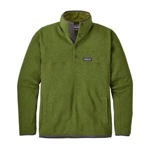 M's Lightweight Better Sweater™ Marsupial Fleece Pullover, Sprouted Green (SPTG)