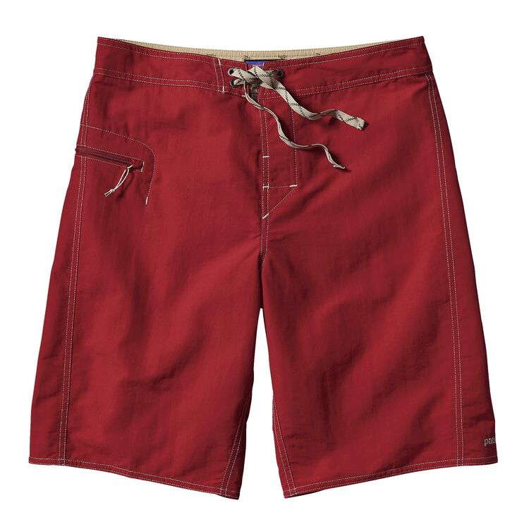M'S SOLID WAVEFARER BOARD SHORTS - 21 IN, Classic Red (CSRD)