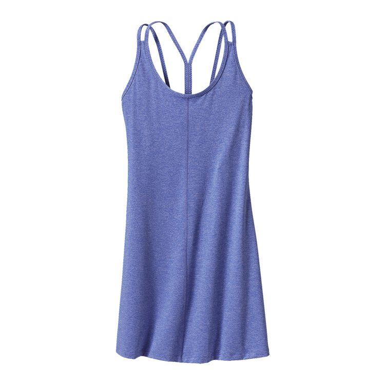 W'S LATTICEBACK DRESS, Ploy Purple (PLYP)