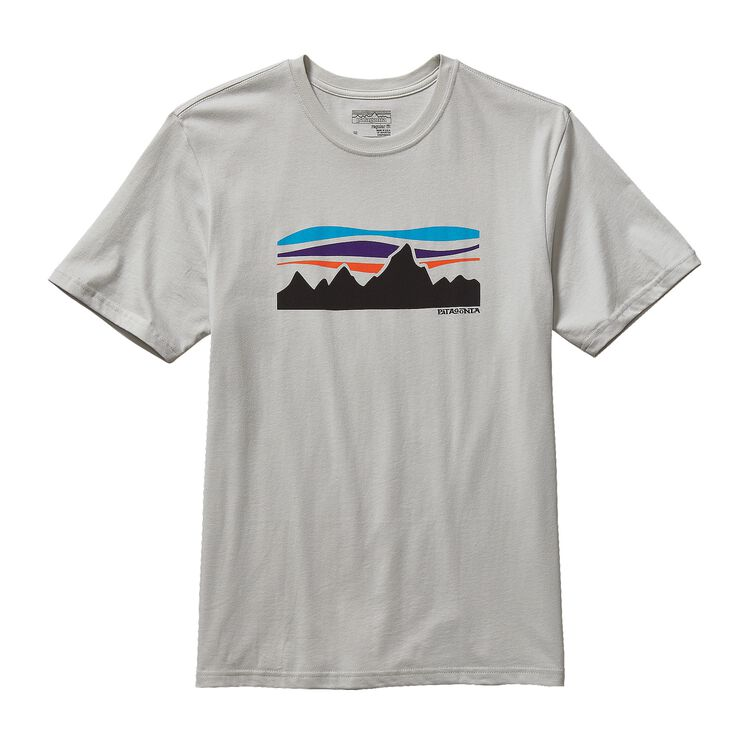 M'S FITZ ROY BANNER COTTON T-SHIRT, Tailored Grey (TGY)