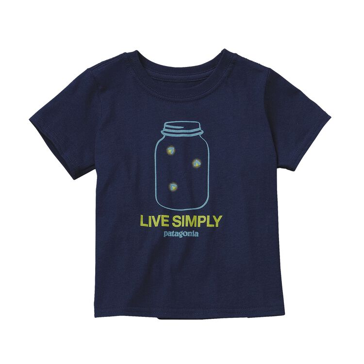 BABY GRAPHIC COTTON T-SHIRT, Navy Blue (NVYB)