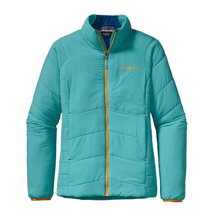 W'S NANO-AIR JKT, Howling Turquoise (HWLT)