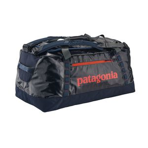 ブラックホール・ダッフル 90L, Navy Blue w/Paintbrush Red (NPTR)