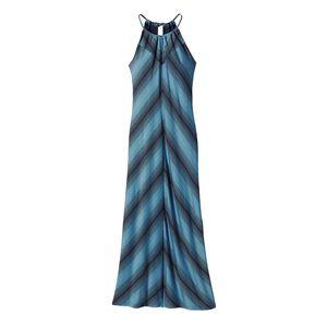 ウィメンズ・カマラ・キーホール・ドレス, Reflection Stripe: Navy Blue (RFNV)