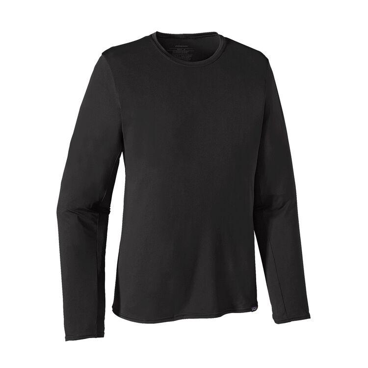 M'S L/S CAP DAILY T-SHIRT, Black (BLK)