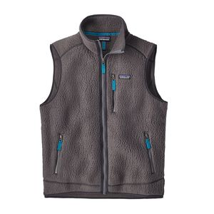 M'S RETRO PILE VEST, Forge Grey (FGE)