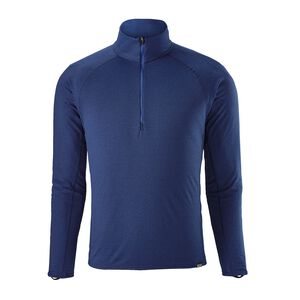 M's Capilene® Midweight Zip-Neck, Viking Blue - Navy Blue X-Dye (VKNX)