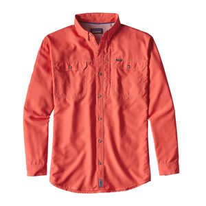 M's Long-Sleeved Sol Patrol® II Shirt, Carve Coral (CRVC)