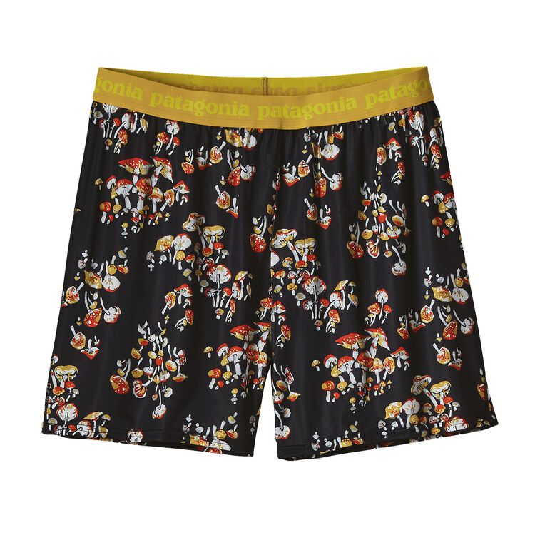 M'S CAP DAILY BOXERS, Mushroom Forest Small: Cusco Orange (MFSC)