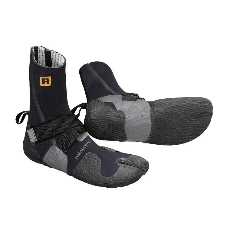 R3 WOOL LINED SPLIT TOE BOOTIES, Black (BLK-155)