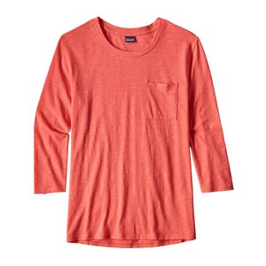 W's Mainstay 3/4-Sleeved Top, Carve Coral (CRVC)