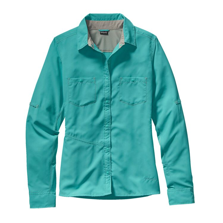 W'S L/S SOL PATROL SHIRT, Howling Turquoise (HWLT)