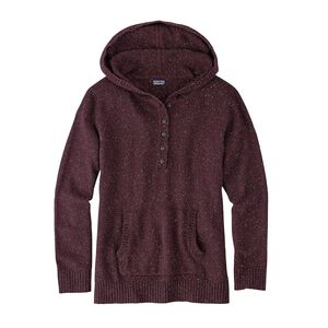 W'S OFF COUNTRY HOODY, Dark Ruby (DAK)