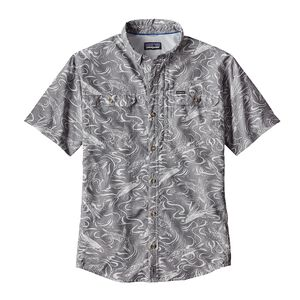 M's Sol Patrol® II Shirt, Fish Splash: Tailored Grey (FSTG)
