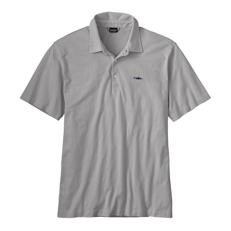 M'S POLO - TROUT FITZ ROY, Tailored Grey (TGY)