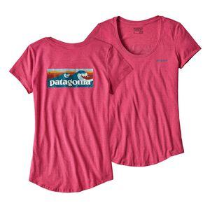 ウィメンズ・ボード・ショーツ・ロゴ・オーガニックコットン/ポリ・スクープ・Tシャツ, Craft Pink (CFTP)