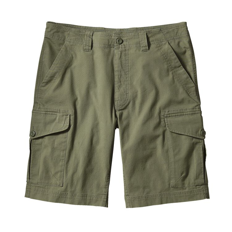 M'S ALL-WEAR CARGO SHORTS - 10 IN., Spanish Moss (SNM)